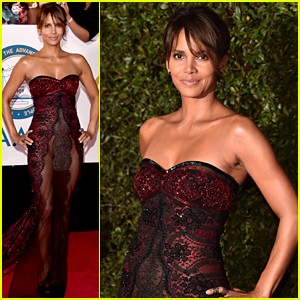 Halle Berry Wows in Sheer Gown at NAACP Image Awards 2018