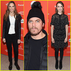 Hilary Swank & Michael Shannon Team Up to Premiere 'What They Had' at Sundance Film Festival!