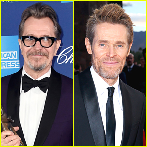 Honorees Gary Oldman & Willem Dafoe Attend Palm Springs Film Festival