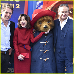 Hugh Grant, Sally Hawkins, & Hugh Bonneville Step Out for 'Paddington 2' Premiere