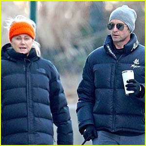 Hugh Jackman & Wife Deborra-Lee Furness Bundle Up While Out in NYC