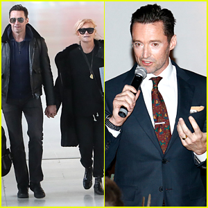 Hugh Jackman & His Wife Are Traveling Around Europe!