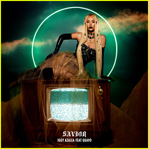 Iggy Azalea Announces New Single 'Savior' Featuring Quavo - See The Cover Art!