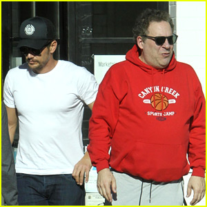 James Franco Lunches with Jeff Garlin After Missing Out on Oscar Nomination