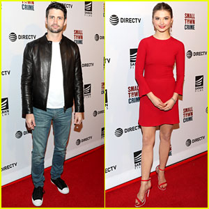 James Lafferty Gets Support From 'One Tree Hill' Co-Star at 'Small Town Crime' Screening