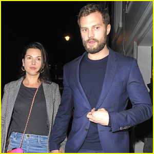 Jamie Dornan & Wife Amelia Warner Step Out for Date Night in London