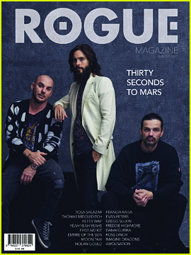 Jared Leto Dishes About the 'Very Surprising' Upcoming 30 Seconds To Mars Album!
