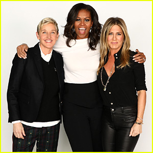 Michelle Obama & Jennifer Aniston Join Ellen for 60th Birthday Celebration!