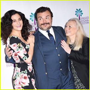 Jenny Slate & Jack Black Premiere 'The Polka King' at 2018 Palm Springs Film Festival!