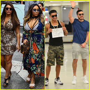 'Jersey Shore' Cast Begins Filming Reunion Show in Miami!