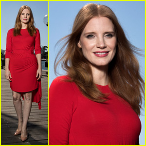 Jessica Chastain Poses for Stunning Photos in Sydney!