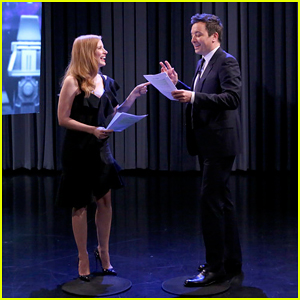 Jessica Chastain Shows Jimmy Fallon What It's Like to Play Female Roles - Watch Here!