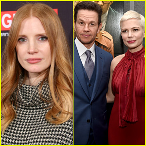 Jessica Chastain Calls Out Alleged 'All the Money in the World' Pay Disparity Between Michelle Williams & Mark Wahlberg