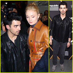 Joe Jonas & Sophie Turner Couple Up at Pre-Grammys Party!
