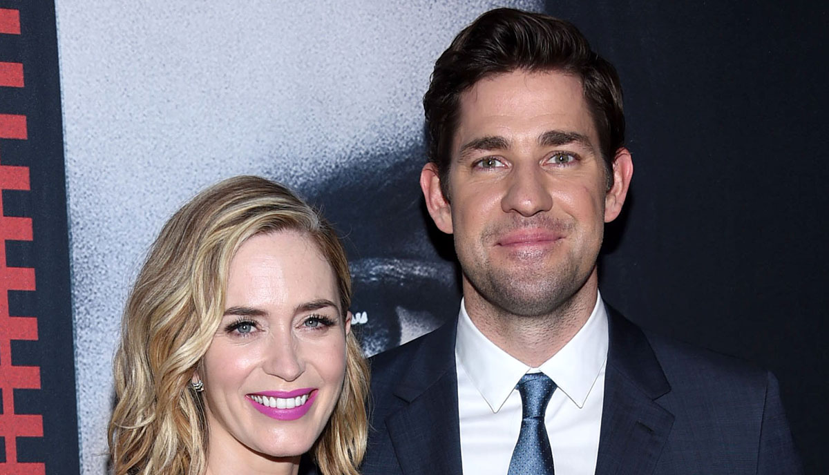 John Krasinski Gushes Over Emily Blunt's Acting Talent