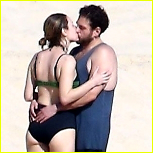 Jonah Hill Kisses His Girlfriend on the Beach in Cabo San Lucas