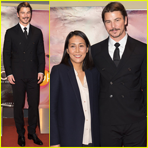 Josh Hartnett Suits Up in Paris for 'Oh Lucy' Premiere!