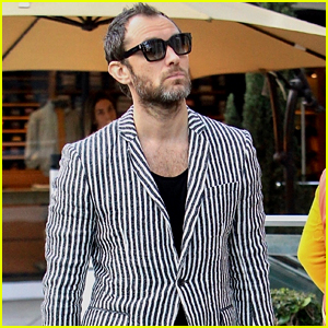 Jude Law Shows Off His Unique Style in Beverly Hills