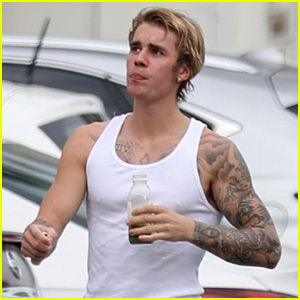 Justin Bieber Shows Off His Buff Body After Pilates Session With Selena Gomez!