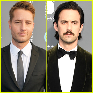 Justin Hartley & Milo Ventimiglia Look So Handsome at Critics' Choice Awards 2018!