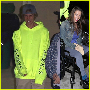 Justin Bieber Attends Church With His Mom Pattie Mallette & Patrick Schwarzenegger!