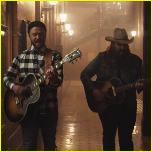 Justin Timberlake & Chris Stapleton Team Up in 'Say Something' Music Video - Watch Here!