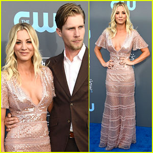 Kaley Cuoco Stuns in Sequins at Critics' Choice Awards 2018