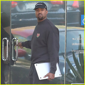 Kanye West Is Hard at Work After the Birth of His Third Child With Kim Kardashian!
