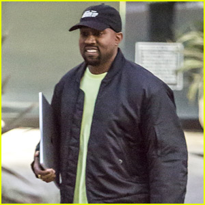 Kanye West Is All Smiles After Chicago's Name Is Revealed!