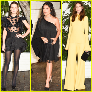 Kate Beckinsale, Salma Hayek & More Step Out In Style for W Mag's Pre-Golden Globes Party!