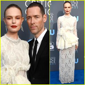 Kate Bosworth & Husband Michael Polish Couple Up for Critics' Choice Awards 2018