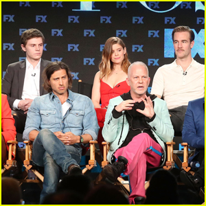 Kate Mara, Evan Peters & 'Pose' Cast Step Out at Winter TCA Press Tour 2018