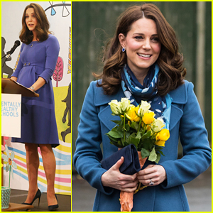 Kate Middleton Gives Speech About Kids' Mental Health During Junior School Visit!