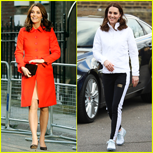 Kate Middleton Switches from Business Casual to Sports Ready for Royal Duties!