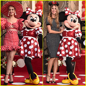 Katy Perry & Heidi Klum Honor Minnie Mouse at Walk of Fame Ceremony!