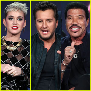 Katy Perry, Luke Bryan, & Lionel Richie Talk 'American Idol' at Winter TCA Press Tour 2018