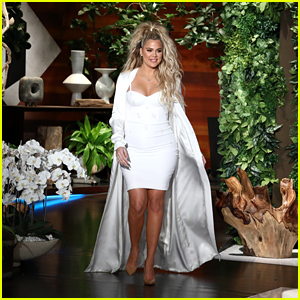 Khloe Kardashian Makes First Appearance Since Announcing Her Pregnancy on 'Ellen' - Watch!