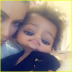 Kim Kardashian & Saint West Have Fun with Snapchat Filters (Video)