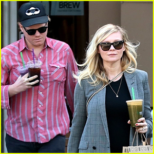 Kirsten Dunst Shows Off Baby Bump Grabbing Coffee with Fiance Jesse Plemons