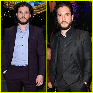 Kit Harington Attends Two Dolce Fashion Shows in One Day!
