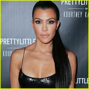 Kourtney Kardashian Shows Off Her Hot Bikini Body With a Cheeky Pic!
