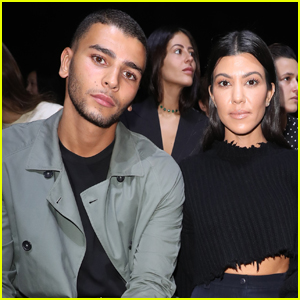 Kourtney Kardashian Shows Some Sweet PDA With Boyfriend Younes Bendjima