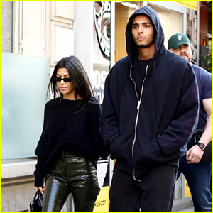 Kourtney Kardashian Opens Up About Finding Balance With Boyfriend Younes Bendjima!