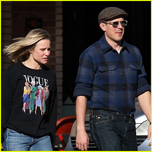 Kristen Bell Has a 'Veronica Mars' Reunion with Chris Lowell!