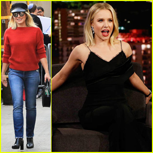 Kristen Bell Shares Hilarious Story of Dumb Fight with Hubby Dax Shepard on 'Jimmy Kimmel'!
