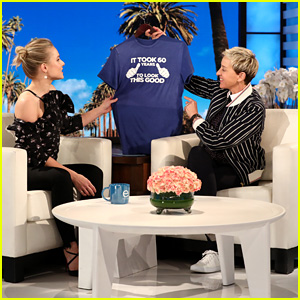 Kristen Bell & Dax Shepard Surprise Ellen DeGeneres With Presents for Her 60th Birthday - Watch Now!