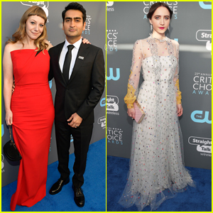 Kumail Nanjiani & 'Big Sick' Co-Star Zoe Kazan Attend Critics Choice Awards 2018