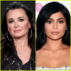 Kyle Richards Is Asked About Kylie Jenner's Pregnancy & Here's How She Responded (Video)