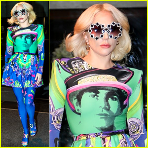 Lady Gaga Wears a Colorful Outfit, Drives Herself in NYC