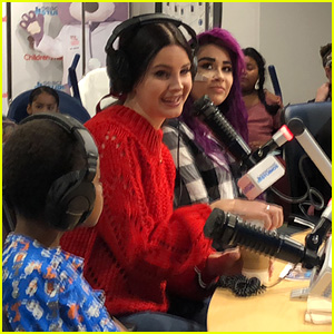 Lana Del Rey Sings Disney Classics & Answers Questions at Children's Hospital in Washington D.C.